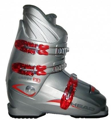 Ботинки горнолыжные HEAD Carve X3 silver/red