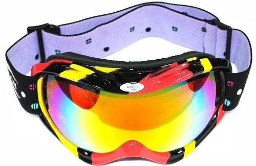 Маска REANSON SKG28MR (black/red/yellow/multi)