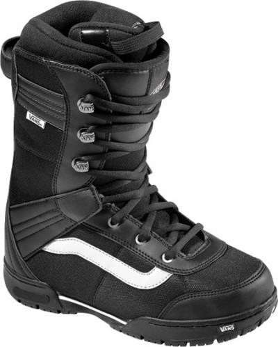 Ботинки сноубордические VANS Mantra W black/white (2011)