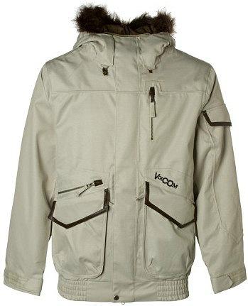 Куртка VOLCOM Paranormal (white)