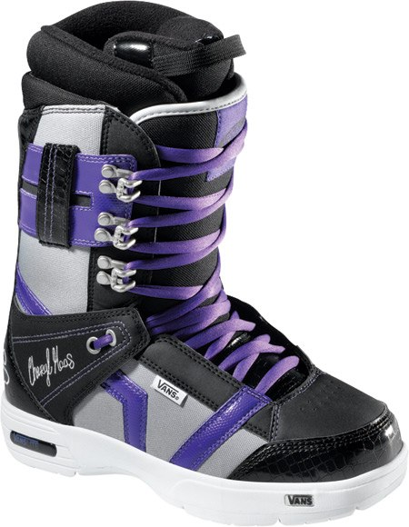 Ботинки сноубордические VANS Hi-Standard W black/cheryl (2011)