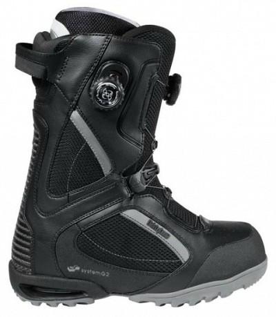 Ботинки сноубордические 32 Focus BOA (black/charcoal/gum)