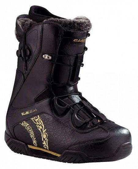 Ботинки сноубордические ELAN Betty (black)