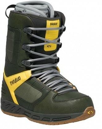Ботинки сноубордические 32 Exus (olive)