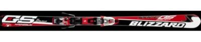 Горные лыжи BLIZZARD GS Magnesium Jr. с крепл. 3.10 white (2010)