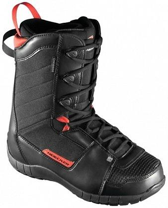 Ботинки сноубордические NIDECKER Charger (black/red)
