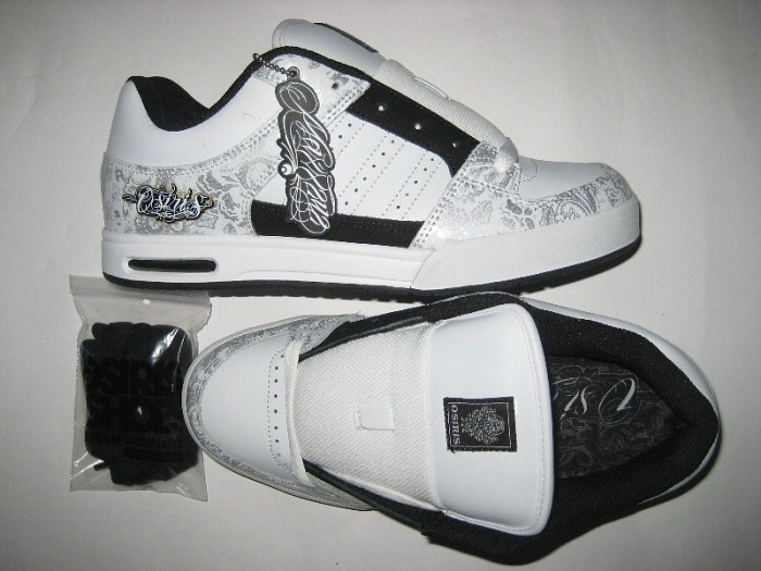 OSIRIS Rattray (white/silver/paisley)