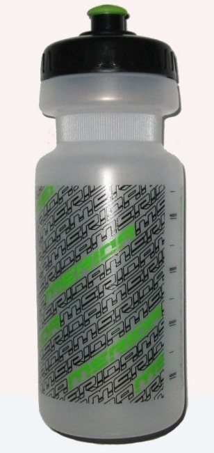 Фляга MERIDA 600 ml (white/green)