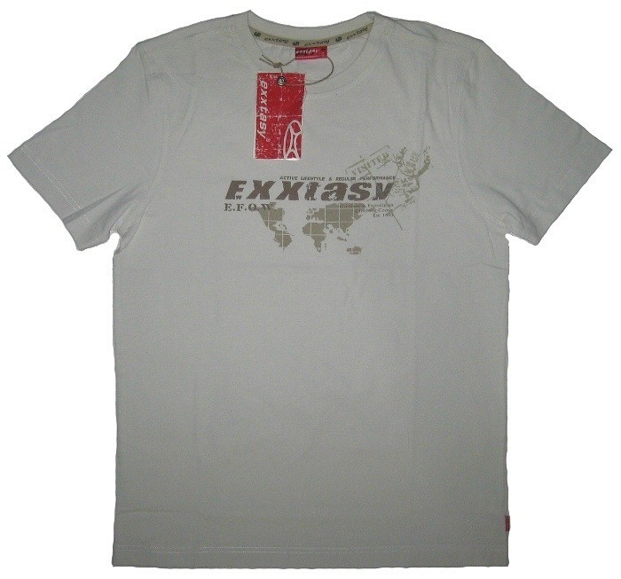Футболка EXXTASY Larsen (white)