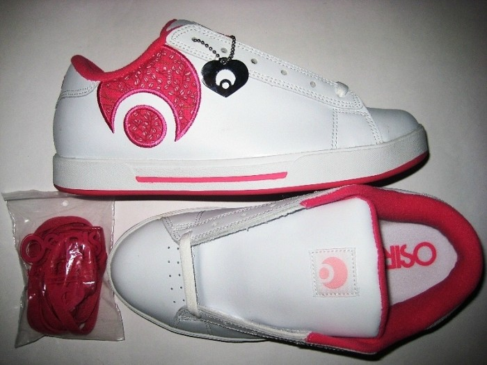 OSIRIS Serve Icon Girls (white/raspberry)