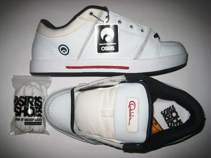 OSIRIS Cardinal (white/navy/red)