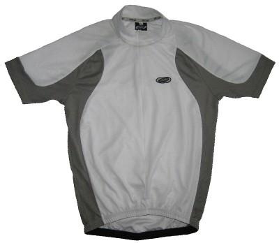 Веломайка BBB BBW-53 Duo jersey (white/grey)