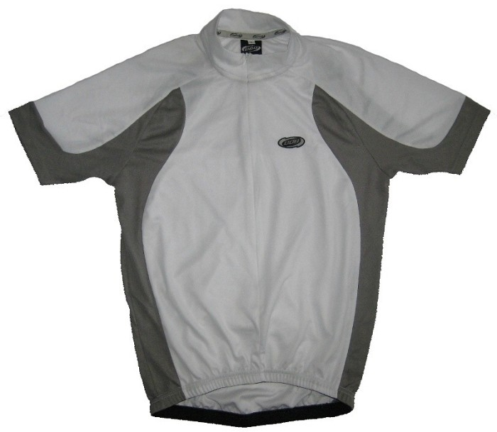 Веломайка BBB BBW-53 Duo jersey (white/grey)