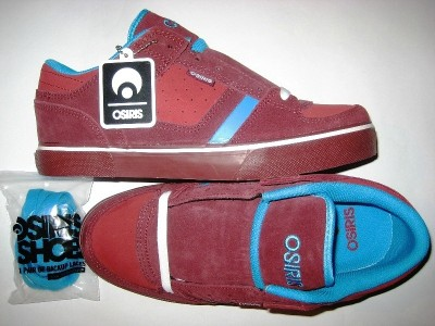 OSIRIS Chino Low (burgandy/maroon/aqu)
