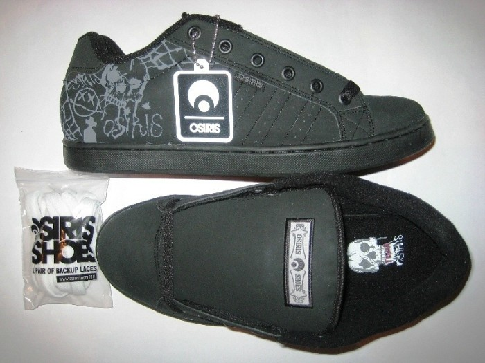 OSIRIS Troma II (black/charcoal/horror show)