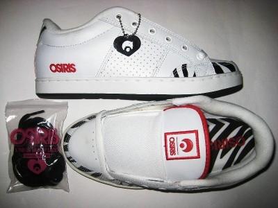OSIRIS Aries Girls (white/zebra/red)