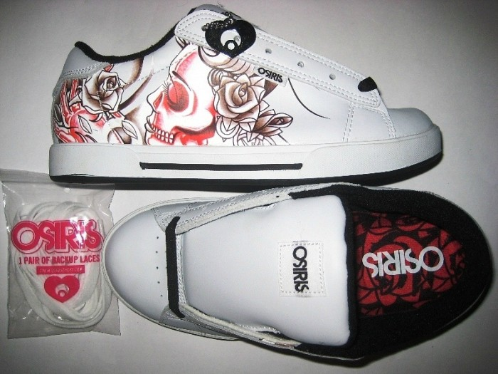 OSIRIS Serve Girls (white/black/olvera)