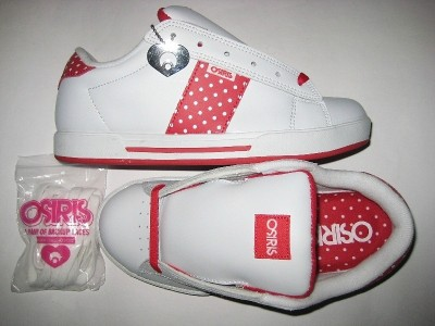 OSIRIS Serve Girls (white/red/polka)