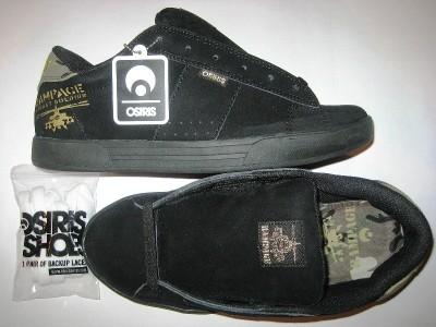 OSIRIS Serve (soldier/black/suede)