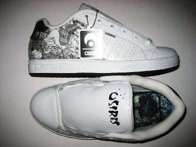 OSIRIS Troma Canvas (white/white/zach)