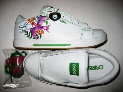 OSIRIS Serve Girls (white/green/dove)