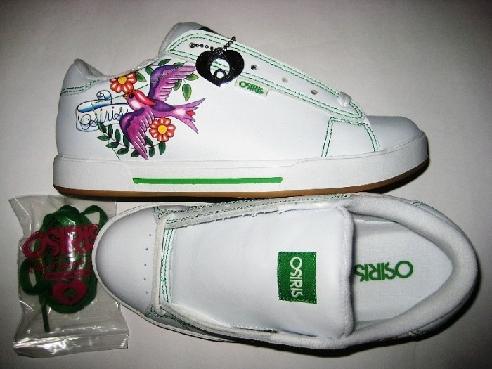 OSIRIS Serve Girls (white/green/dove)