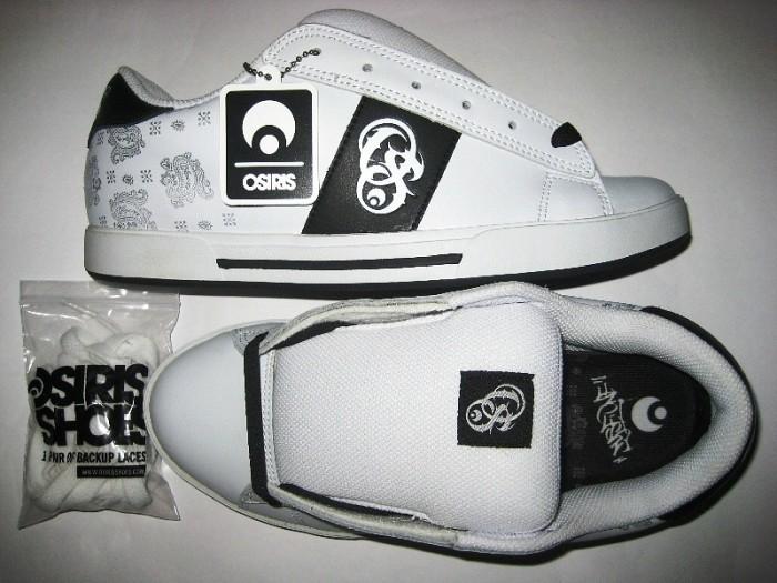 OSIRIS Serve (dyse/baseball/white)