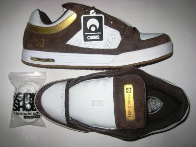 OSIRIS Rattray (dk.brown/white/gold)