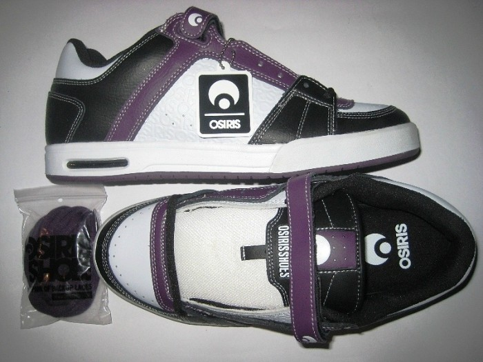 OSIRIS Program Plus (black/white/purple)