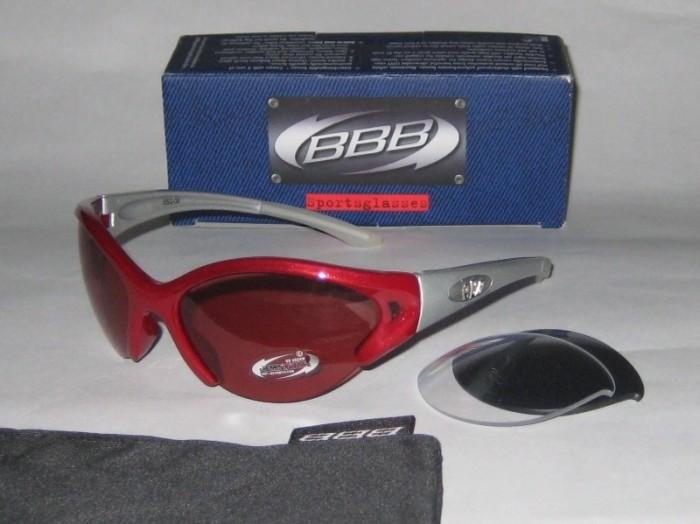Очки BBB Ventilator (red/silver)
