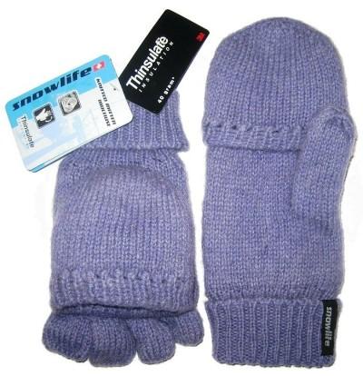 Варежки - перчатки SNOWLIFE Knitted Cap Mitten
