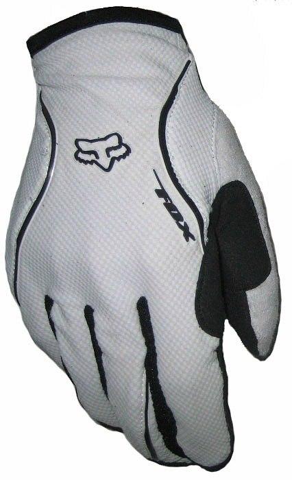 Велоперчатки FOX Reflex Gel (white)