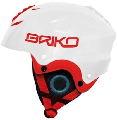 Шлем BRIKO Pocket (white/red)