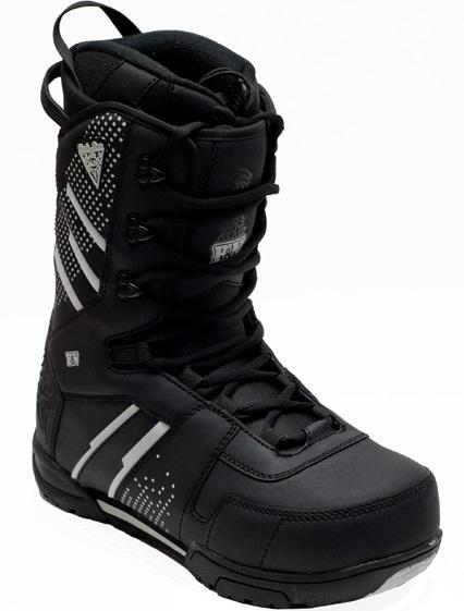 Ботинки сноубордические BLACK FIRE B&W black (2013)