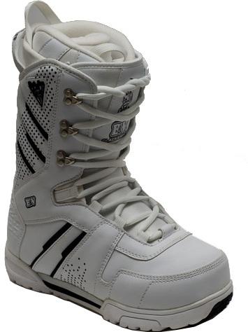 Ботинки сноубордические BLACK FIRE B&W white (2013)