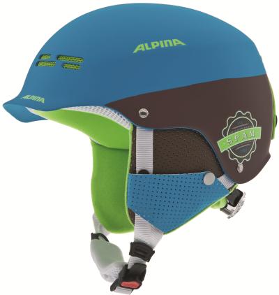 Шлем ALPINA Park Spam (blue/green)