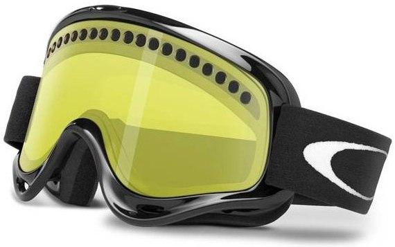 Маска OAKLEY O-Frame XS (black/yellow)