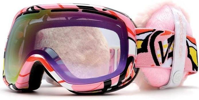 Маска VONZIPPER Chakra (mumu pink/B4BC smoke pink chrome)