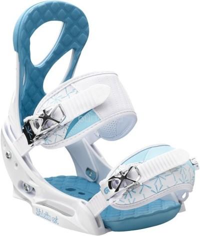 Крепления сноубордические BURTON Stiletto EST white/blue (2013)