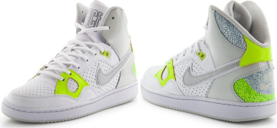 Кеды NIKE Son Of Forse Mid (white/green/silver)