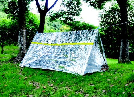 Палатка термосберегающая Ace Camp Reflective Tube Tent