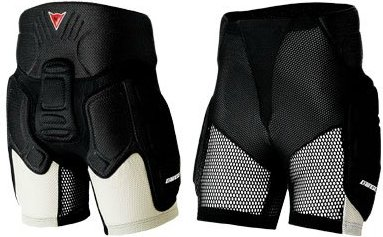 Защитные шорты DAINESE Thermo Impact Short (black/silver)