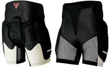 Защитные шорты DAINESE Thermo Impact Short (black/silver)