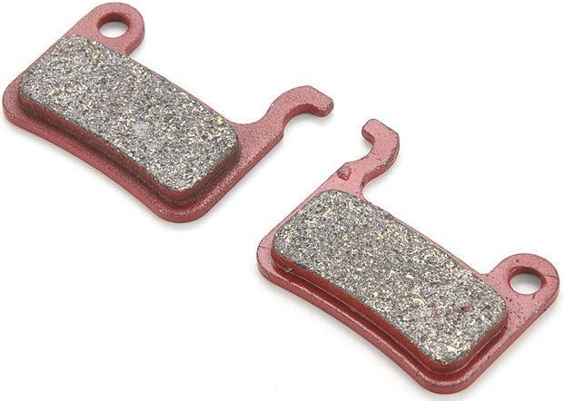 Колодки тормозные дисковые для SHIMANO XTR и др. (red)