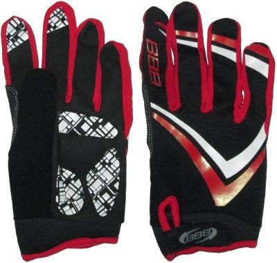 Велоперчатки BBB FreeZone (black/red)