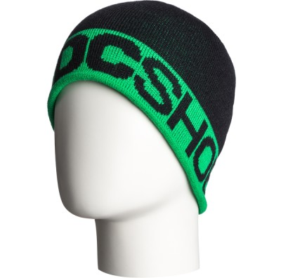 Шапка DC Axle Stalls (black/green)
