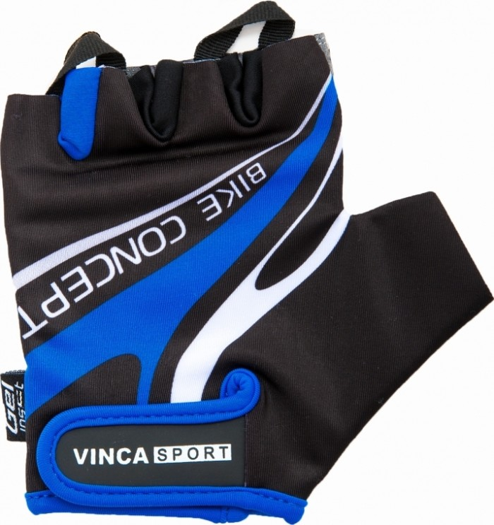 Велоперчатки VINCA SPORT Bike Concept (blue)