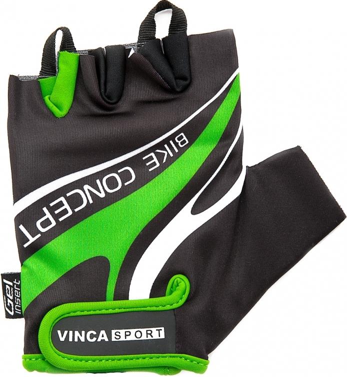 Велоперчатки VINCA SPORT Bike Concept (green)
