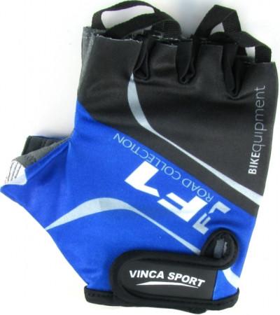 Велоперчатки VINCA SPORT Formula 1 (blue)