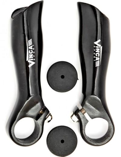 Рога на руль VINCA SPORT VBE 2 (black)